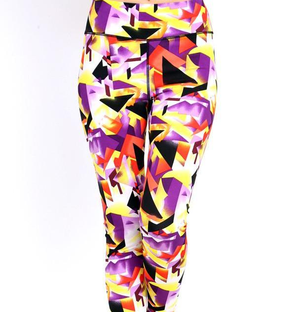 Triangle - Purple, Yellow Athletic
