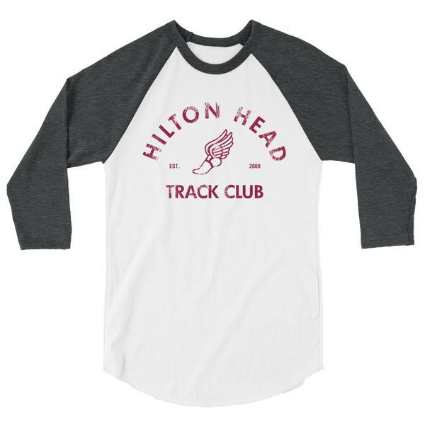 Hilton Head Track Club - Unisex 3/4 Sleeve