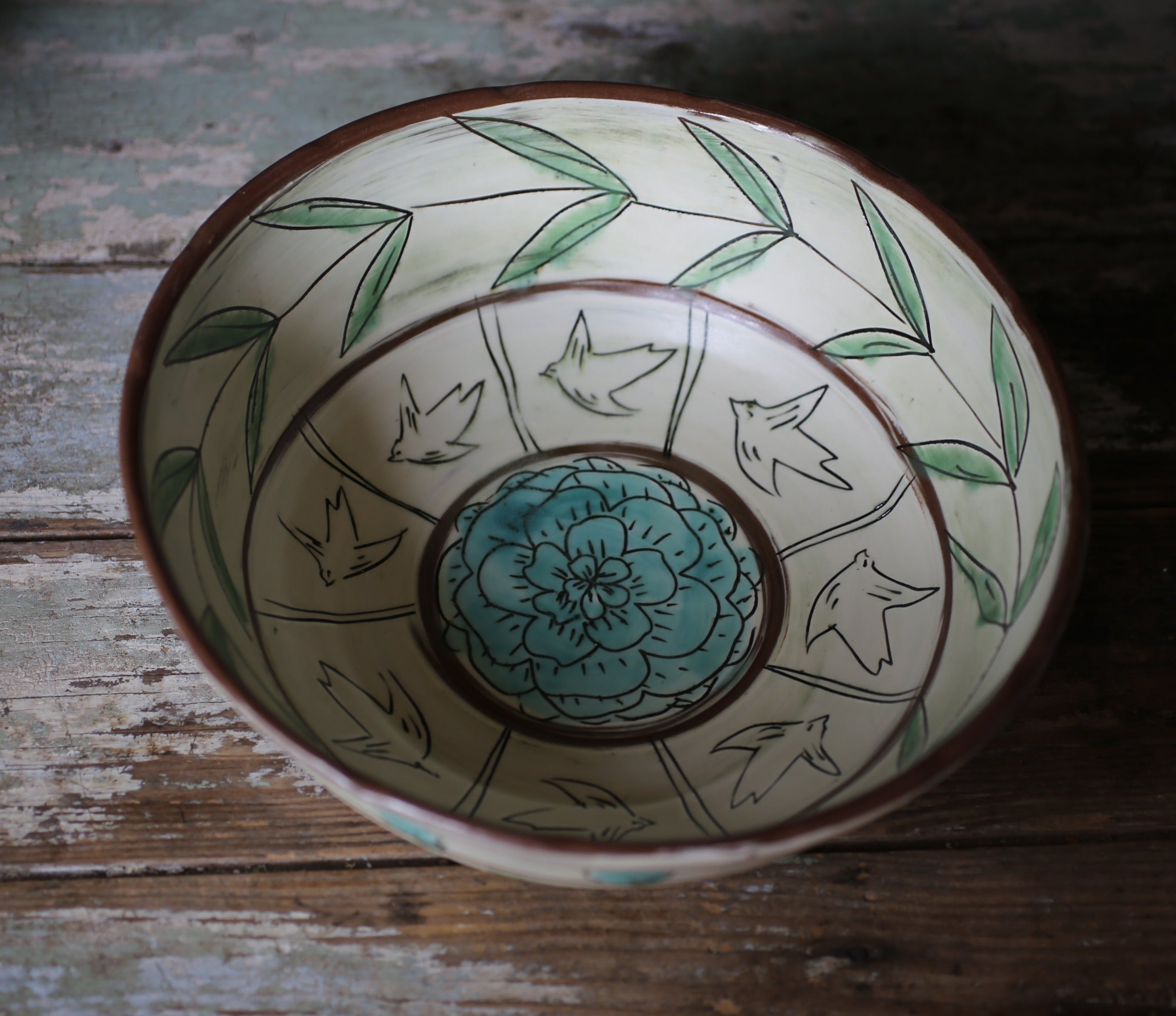 E&R Rice Serving Bowl