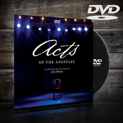 Acts DVD with Joe Boyd