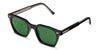 BC-2 BLACK / DARK GREEN