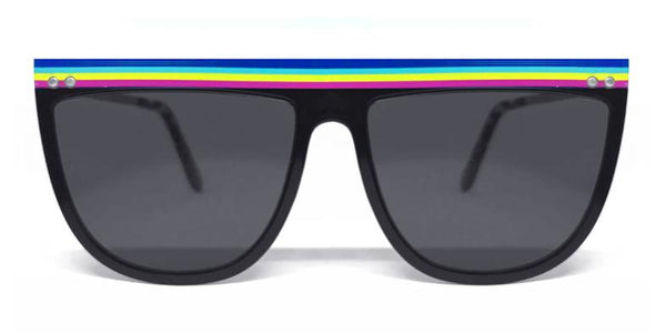 ECHO BEACH BLACK / TOP RAINBOW / BLACK