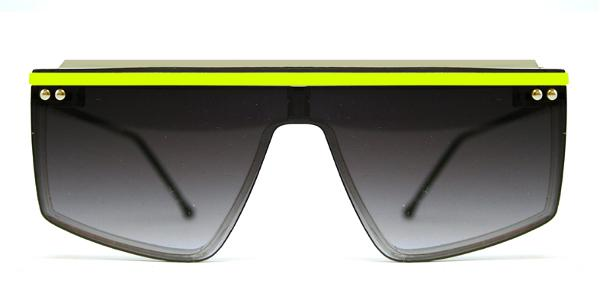 HCD Clear / Neon Yellow / Black Grad