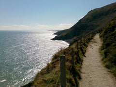 Bray to Graystones hike during Ireland Trail Running Vacation by WanderFit
