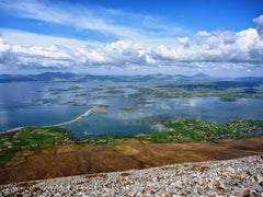 Western Way Ireland Trail Running Vacation near Westport and the islands of Clew Bay