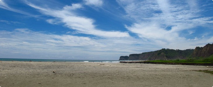 Yoga by the Pacific Ocean on a Ecuador Fitness Adventure Tour