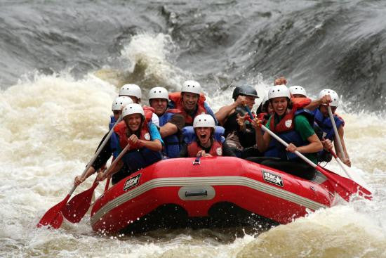 Minnesota FitTrip 2015 - Global Fitness Adventure Travel - north woods white water rafting