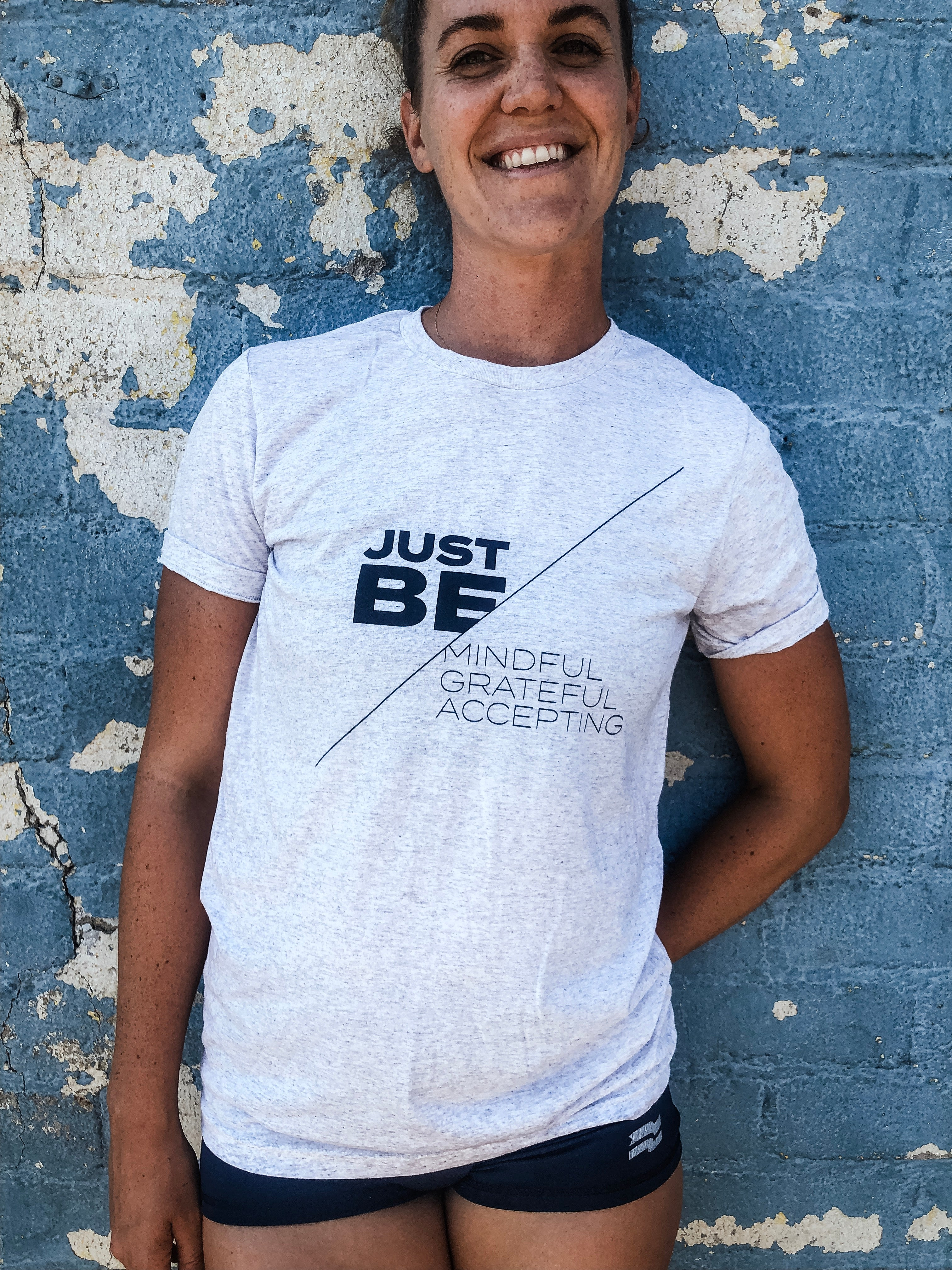 Just Be Tee - Black Logo