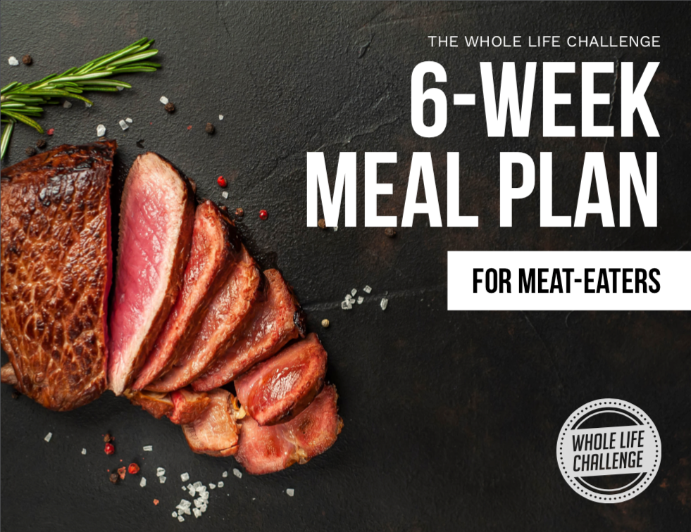 6-Week Meal Plan - For Meat Eaters