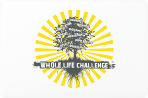 Whole Life Challenge Laptop Skin - Yellow