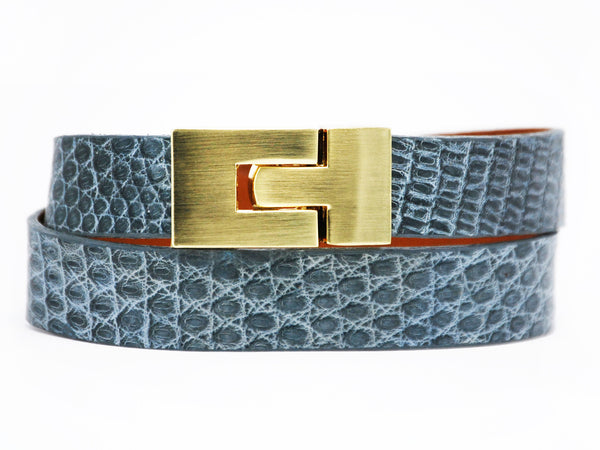 Double Jigsaw Bracelet Grey Lizard
