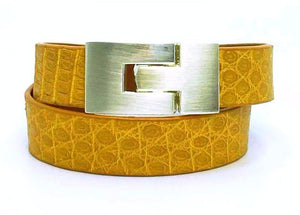 SALE Double Wrap Maize Lizard Jigsaw Bracelet