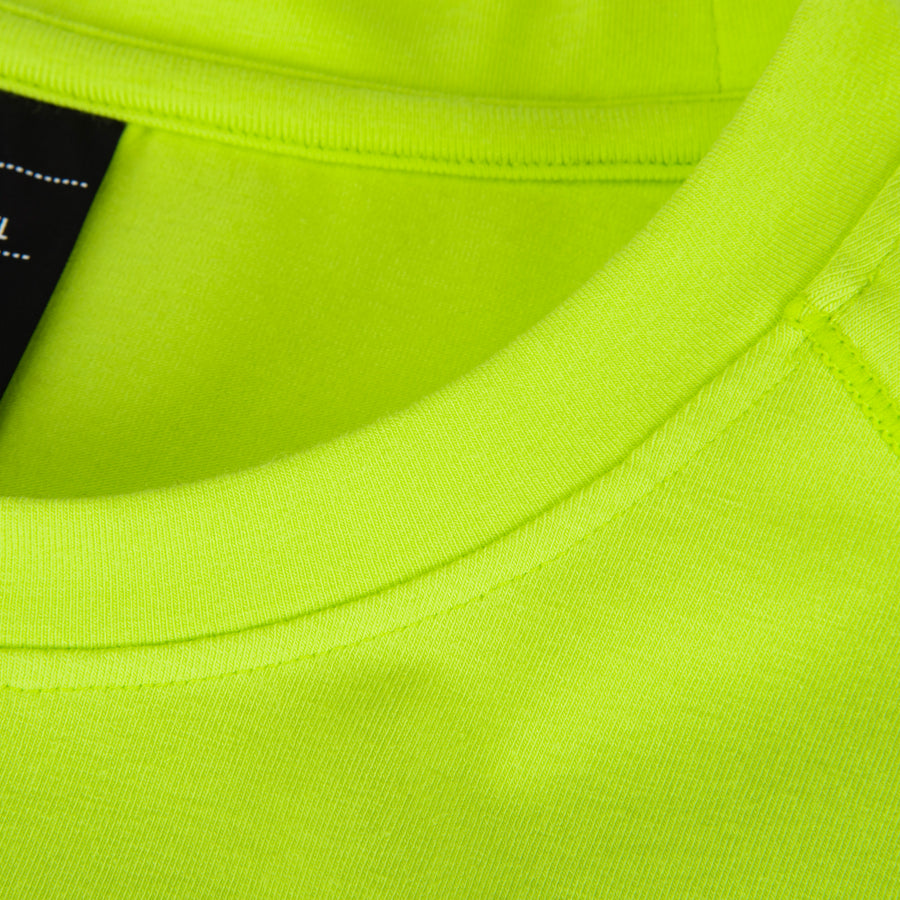 Aviation Tee Safety Yellow