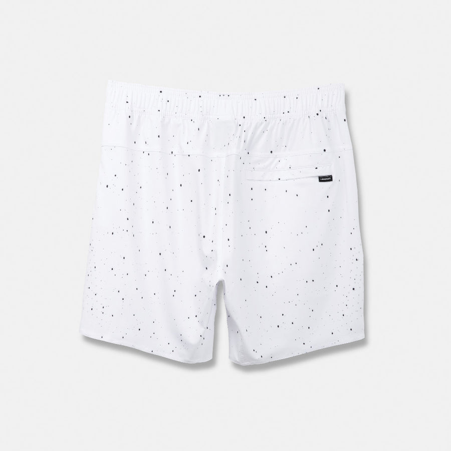 White-Black Splatter