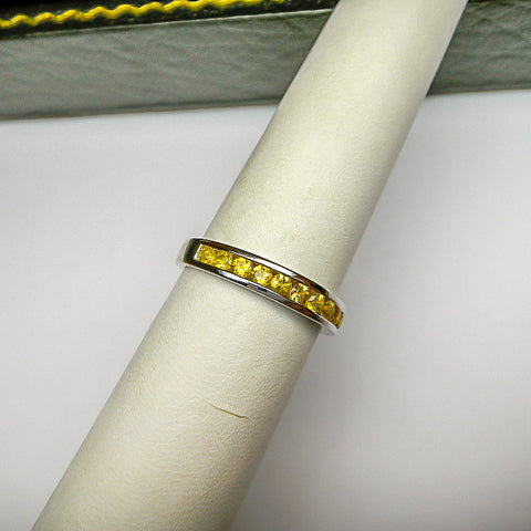 Chanel Set Band - Yellow Sapphire
