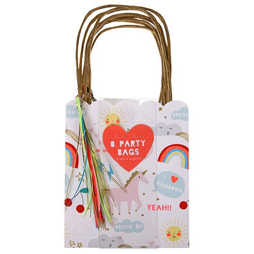 PARTY BAG UNICORN 8PC