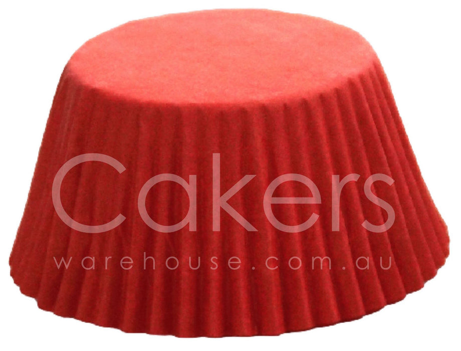 CUPCAKE PAPER 398 RED 50PC