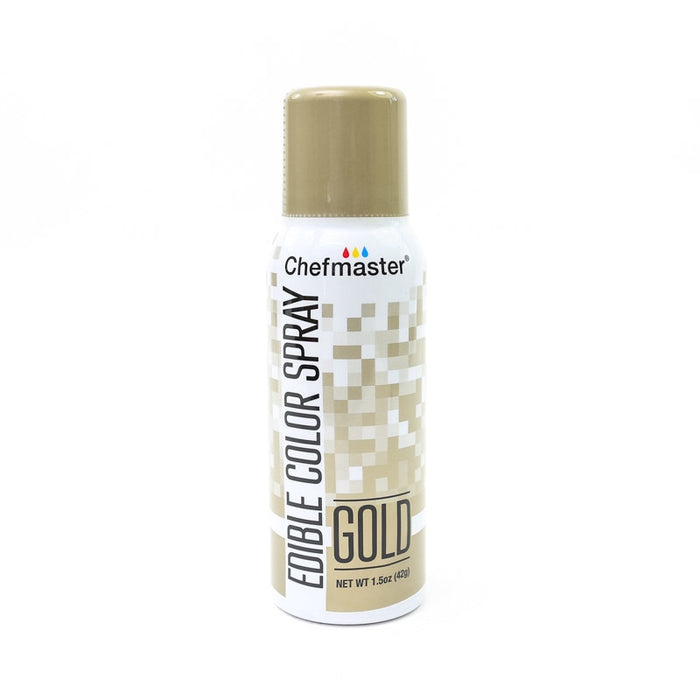 CHEFMASTER EDIBLE FOOD SPRAY GOLD 42GM
