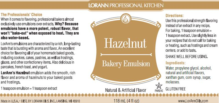 EMULSION 4OZ HAZELNUT
