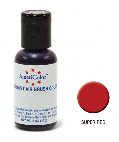 AMERICOLOR AIRBRUSH COLOUR 0.65OZ SUPER RED