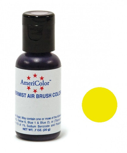 AMERICOLOR AIRBRUSH COLOUR 0.65OZ ELECTRIC YELLOW