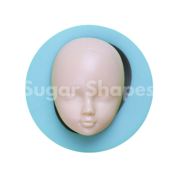 SILICONE MOULD FIGURINE HEAD CHILD