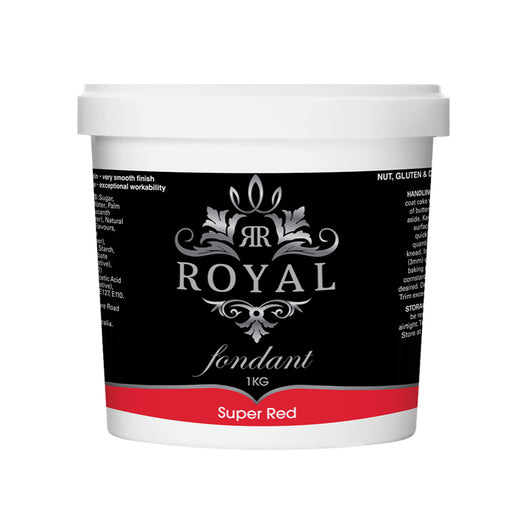 ROYAL FONDANT 1KG SUPER RED