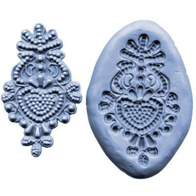 SILICONE MOULD BEAD MEDALLION
