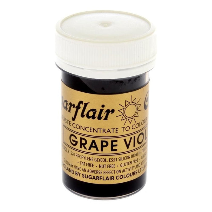 SUGARFLAIR PASTE 25G GRAPE VIOLET
