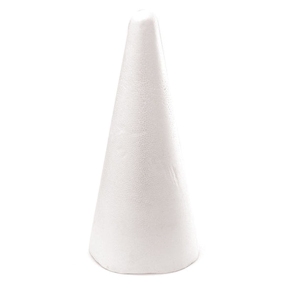 FOAM CONE FLAT TOP 350MM X 120MM 1PC