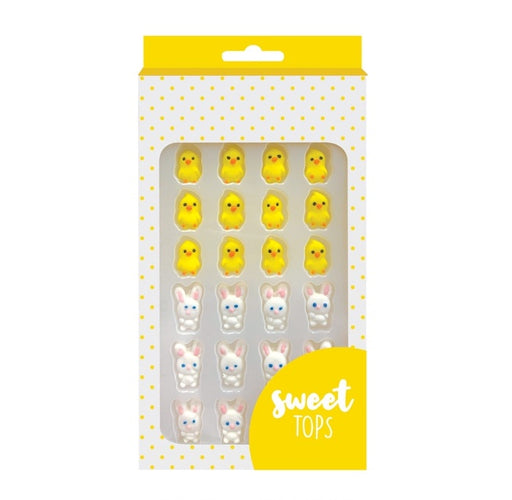 SWEET TOPS SUGAR DECORATIONS BUNNY & CHICK