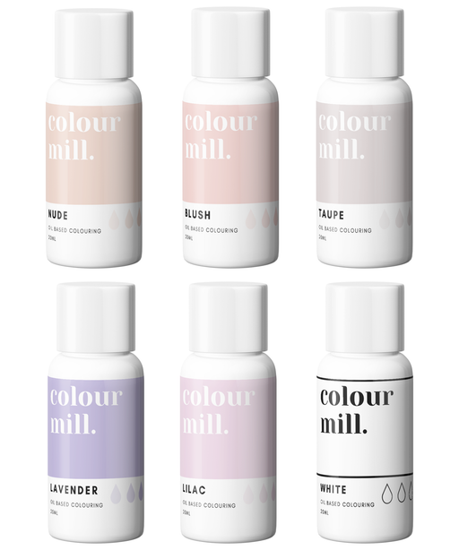 COLOUR MILL OIL BASED COLOURING 20ML 6PC NUDE