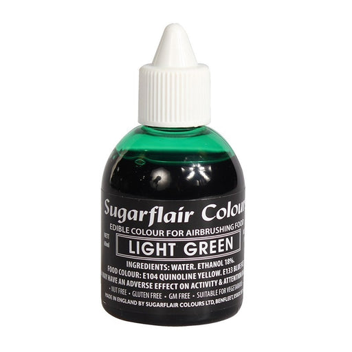 SUGARFLAIR AIRBRUSH 60ML LIGHT GREEN