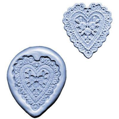 SILICONE MOULD HEART