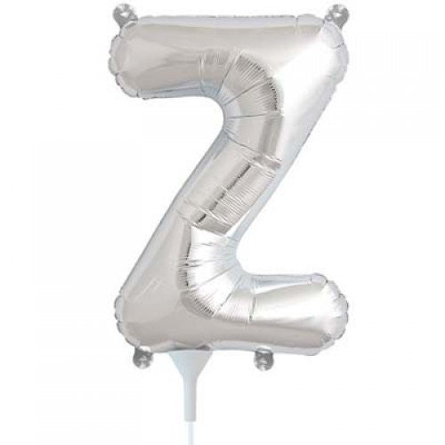 ALPHABET BALLOON SILVER 16