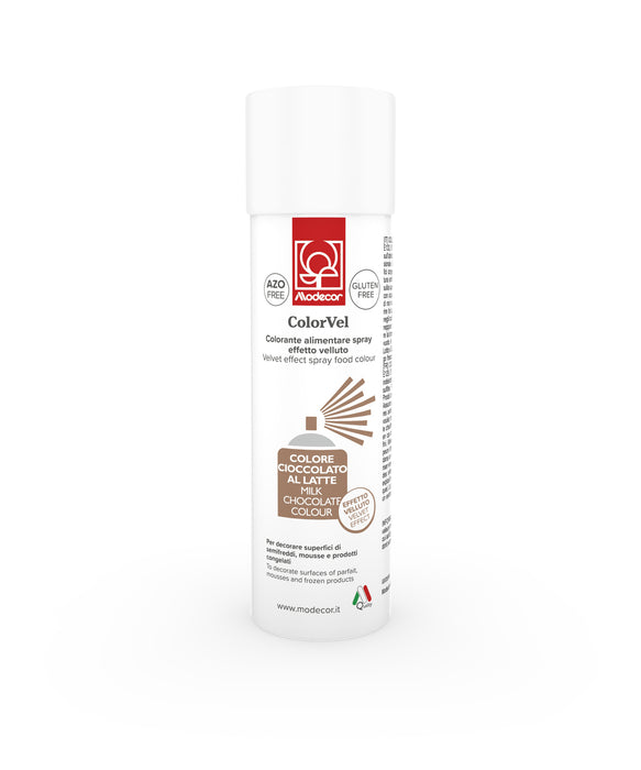 MODECOR VELVET SPRAY 250ML MILK CHOCOLATE