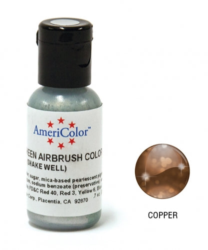 AMERICOLOR AIRBRUSH COLOUR 0.65OZ COPPER SHEEN