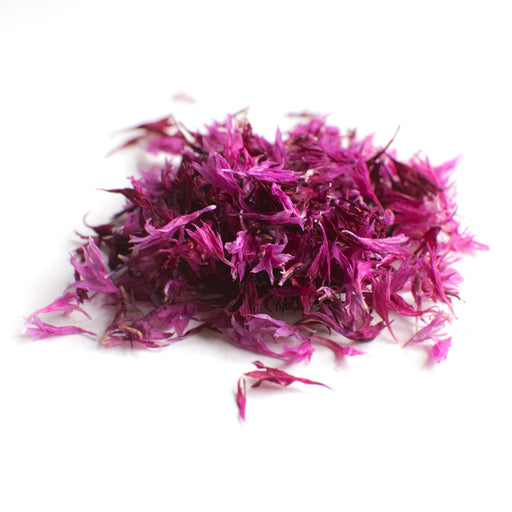 DRIED EDIBLE FLOWER CORNFLOWER PINK 2G