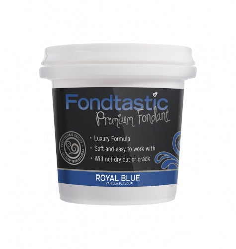 FONDTASTIC FONDANT 225G ROYAL BLUE