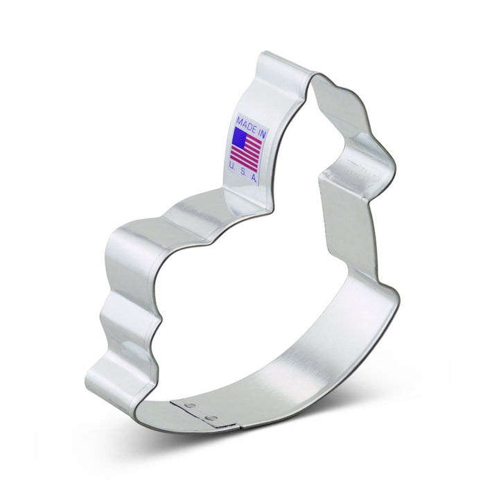 ANN CLARK COOKIE CUTTER ROCKING HORSE 4""