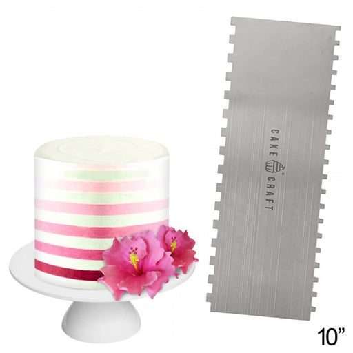 "BUTTERCREAM COMB 10"" THIN STRIPES"