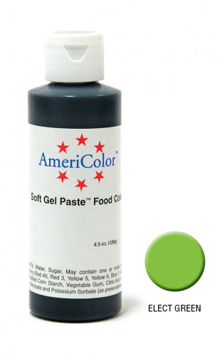 AMERICOLOR GEL COLOUR 4.5OZ ELECTRIC GREEN