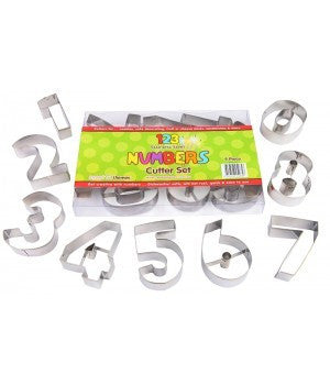 CUTTER LARGE NUMBERS 9PC 70MM