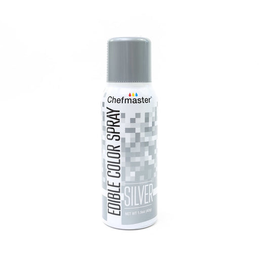 CHEFMASTER EDIBLE FOOD SPRAY SILVER 42GM