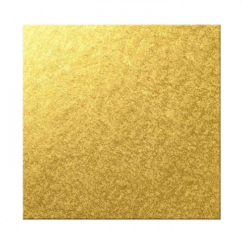 MASONITE BOARD SQUARE GOLD 10""