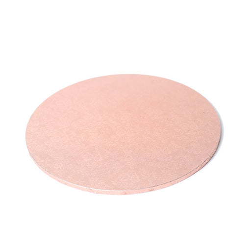 MASONITE BOARD ROUND ROSE GOLD 8""