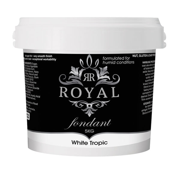 ROYAL FONDANT 5KG TROPIC WHITE