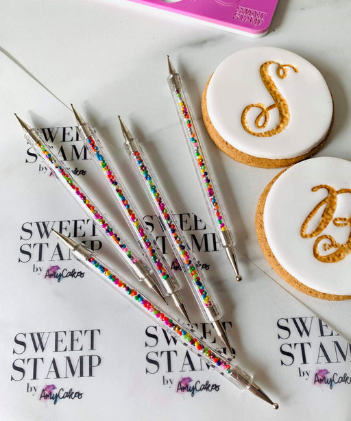 SWEET STAMP TEXTURE TOOLS 5PK