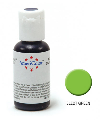 AMERICOLOR GEL COLOUR 21G ELECTRIC GREEN