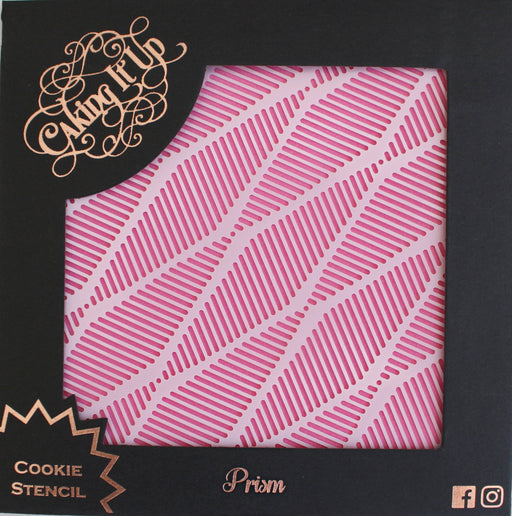 CAKING IT UP COOKIE STENCIL PRISM